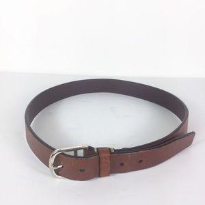 Tommy Hilfiger Mens Brown Leather Belt
